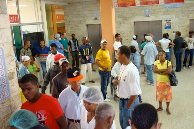 Jose Maria Cabral y Baez Hospital lobby